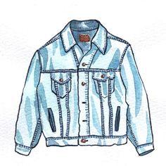 vintage denim jeans jacket mochni drawing The post vintage denim jeans jacket mochni drawing appeared first on Jeans. Jeans Drawing, Jacket Drawing, Drawing Clothes, Vintage Mode, Vintage Denim, Denim Jeans, Vintage Outfits, Vintage Fashion, Fashion Illustration Dresses