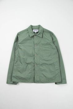 EG Workaday Olive NyCo Ripstop Utility Jacket Special