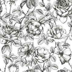 floral engraving