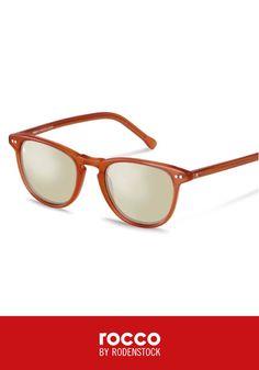 Bringen Sie freche Farben in Ihre Outfits mit dieser Sonnenbrille von rocco by Rodenstock. Sie ist perfekt für Ausflüge an den Strand und zu Festivals in diesem Frühjahr und Sommer.