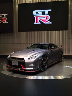 2014 Nismo Nissan GT-R. What a smexy beast! Being showed off to the world..... #WUNLife #WakeUpNow #WUNVision