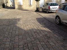 French road surface