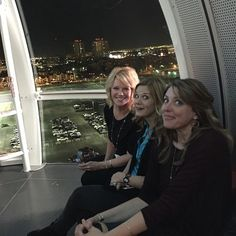 Way up on the High Roller in Vegas! #leadingandlovingit #retreat Photo taken by @lsarno on Instagram, pinned via the InstaPin iOS App! (11/10/2014)