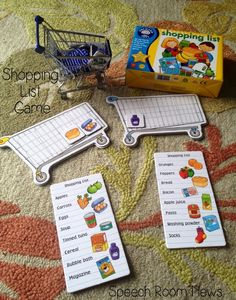 A Special Sparkle: Grocery Shopping Life Skills Interactive Activities