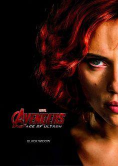 age of ultron black widow | Black Widow|Avengers Age Of Ultron|Fan-Poster by NastasyaRose