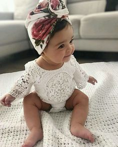 f55064324aa7 Floral pattern baby headband | cheap newborn baby clothes | newborn outfits  | cute baby girl outfits