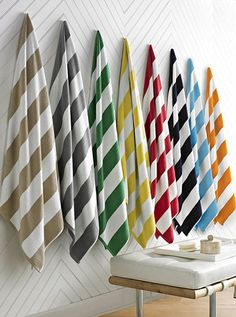 Dish towel display retail display ideas pinterest for Ikea beach towels