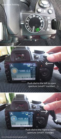 Nikon D3100: How to change the settings in different modes | Chrissy Martin Photography