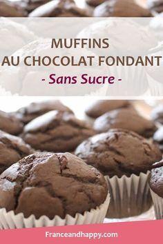 Je viens de faire les Muffins au chocolat fondant... C'est une tuerie ! Je vous partage la recette de ces muffins chocolat au cœur fondant croq'kilos.