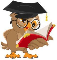 Owl reading a book Poster Vector cartoon illustration Poster. Owl Clip Art, Owl Art, Cartoon Cartoon, Funny Emoji Faces, School Murals, Bear Card, Creative Poster Design, Owl Pictures, School Decorations