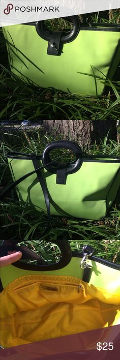 Preston & York Lime Handbag EUC, no stains or flaws, detachable smaller bag inside. So stylish! Preston & York Bags Shoulder Bags