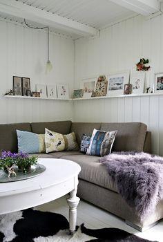 Casa escandinava | sala da la