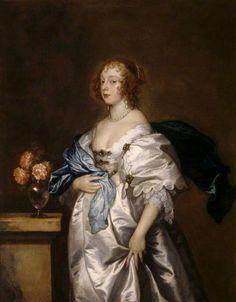 The Athenaeum - Alice Bankes (1621-1683), Lady Borlase (Anthony van Dyck - )