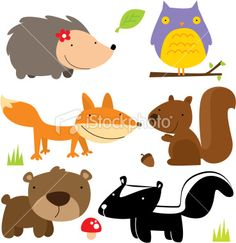 Google Image Result for http://i.istockimg.com/file_thumbview_approve/10085087/2/stock-illustration-10085087-cute-forest-animals.jpg