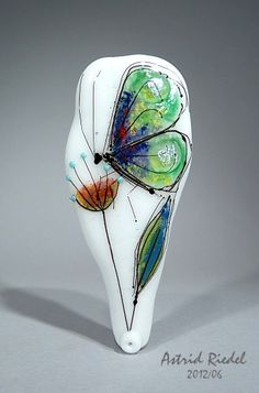 Lamp work by Astrid Riedel one of my favorite contemporary glass artists (links to her site)