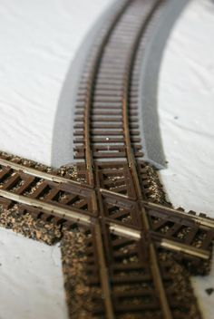 Combining Integrated Roadbed Tracks and Standard Tracks: Integrated roadbed tracks and standard tracks can be used together with a little planning and just a few modifications.