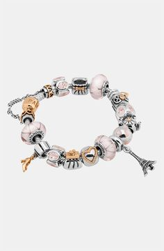 Pandora silver/gold/Paris