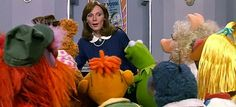 Gates Mc Fadden, Dr. Beverly Crusher. STNG and the Muppets