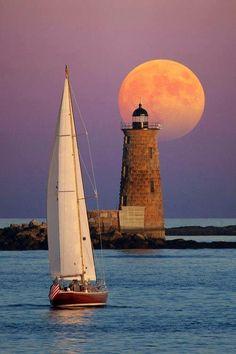 Sailing.... Takes me away,  to where I'm going...