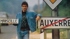1988. Saucy performance of Eric Cantona which has passed from AJ Auxerre to Olympique de Marseille