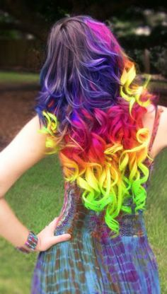 Funny pictures about Magnificent Little Pony Hair Dye. Oh, and cool pics about Magnificent Little Pony Hair Dye. Also, Magnificent Little Pony Hair Dye photos. Rainbow Hair Extensions, Clip In Hair Extensions, Coloured Hair, Dye My Hair, Pony Hair, Grunge Hair, Cool Hair Color, Hair Colors, Crazy Hair