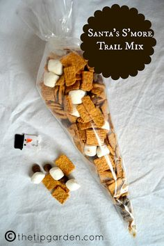 Santa Smore Trail mix