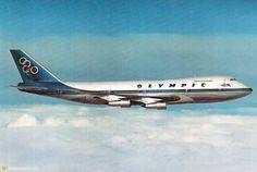 Olympic Airways Boeing 747-200B Jumbo --