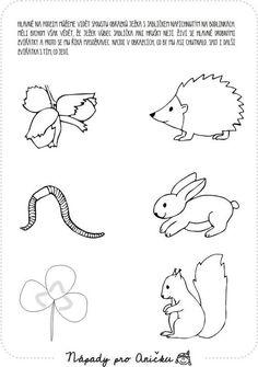 Kindergarten, Finger Plays, Animal Crafts For Kids, Step Kids, Autumn Crafts, Forest Animals, Pre School, Elementary Schools, Montessori