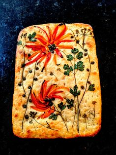 Bell Pepper and herb focaccia Bread Machine Recipes, Bread Recipes, Baking Recipes, Savory Donuts Recipe, Donut Recipes, Focaccia Bread Recipe, Muffins, Bread Art, Savory Tart