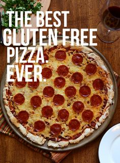 The Best Gluten Free Pizza Crust   Sauce