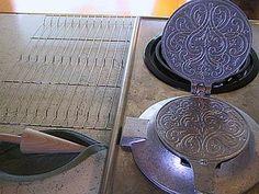 How to Make Krumkake: Preparing the Krumkake Iron