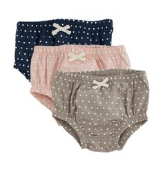 Polka Dot Bloomers by Nature Baby