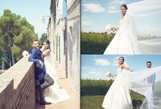 bride groom pic photo idea veil dress gown nature beautiful wedding  by Luca Massaccesi http://www.brobrowedding.com/