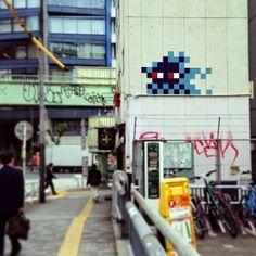 Invader in Tokyo (May 2014)