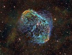 NGC 6888 Nebulosa Medialuna
