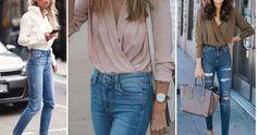 Outfits con pantalon altos de cintura, ¡ficha estas ideas!