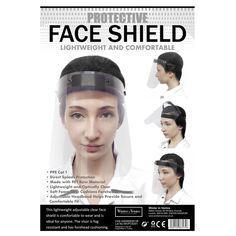 Winter in Venice Protective Face Shield