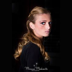 #elegant #hairstyle Faded to black #portrait Stunning #makeup look #beauty Photography by Miriam Moskovits www.facebook.com/miriammoskovitsphoto www.instagram.com/miriammoskovitsphoto Hair by Ruchy Schwarzmer Makeup by Rachel Hoffman