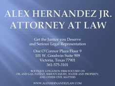 Victoria Texas lawyer ad