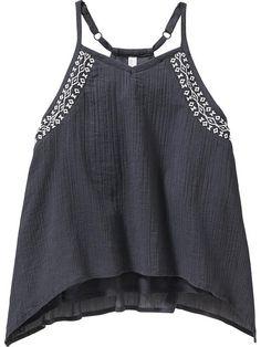 Girls Gauze Swing Camis