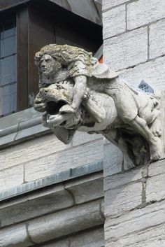 visby - not exactly a gargoyle but a water spout worth having