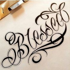 Letters to live by volume tattoo script lettering sketchb Tattoo Lettering Styles, Chicano Lettering, Tattoo Script, Tattoo Fonts, Ambigram Tattoo, Graffiti Tattoo, Graffiti Lettering, Hand Lettering, Short Quote Tattoos
