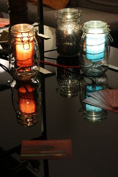 Lamps in a Jar