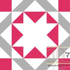 Union Star Block Pattern - This traditional quilt pattern uses star block patterns to create something bright, beautiful, and old school.