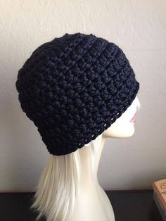 Ravelry: Hubby's Chunky Hat pattern by Brooke Olson