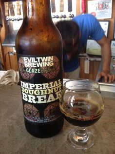 Evil Twin Brewing  Imperial Doughnut Break  At seventh sun brewery. Thanks Eric!