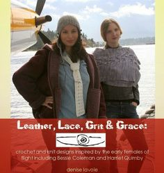 @crochetkween strongly recommends the knit and crochet pattern book Leather, Lace, Grit and Grace by Denise LaVoie; read her review to see why! @karida_nfc mentioned that two of the patterns use their yarns