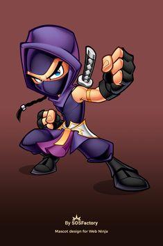 Time lapse video of the creation of Ninja Web Mascot design Children's Book Characters, Graffiti Characters, Chibi Characters, Arte Ninja, Ninja Art, Cartoon Styles, Cartoon Art, Guerrero Ninja, Estilo Cholo