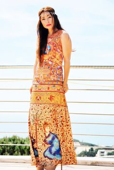 New post on my blog!! http://nekane2020.blogs.elle.es #arty #fashionblog #streetstyle #outfit #bohochic #maxidress #buscandoaaudreyblog