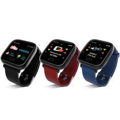 Bakeey New UI Display Heart Rate Blood Pressure Oxygen Alarm Reminder Sport Smart Watch Sierra Leone, Bluetooth, Ios, Uganda, Smart Bracelet, Heart Rate Monitor, Applications, Watch Sale, Operating System